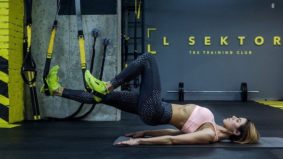 TRX Butt on fire